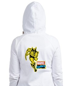 Yellow Wolverine Fitted Hoodie