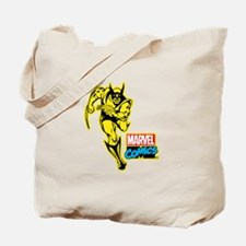 Yellow Wolverine Tote Bag