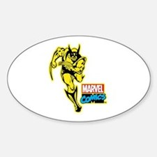 Yellow Wolverine Decal