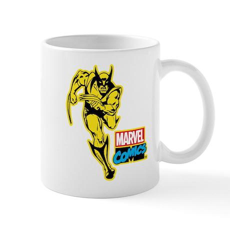 Yellow Wolverine Mug