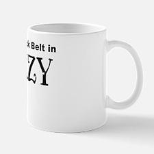 Black belt in CRAZY Mug