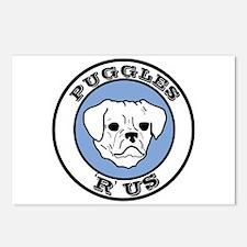 Puggles 'R' Us! Postcards (Package of 8)