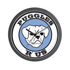 Puggles 'R' Us! Wall Clock
