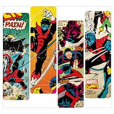 Nightcrawler Comic Panel Wall Art Poster