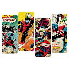 Nightcrawler Comic Panel Wall Art