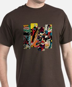 Nightcrawler Comic Panel T-Shirt
