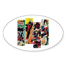 Nightcrawler Comic Panel Decal