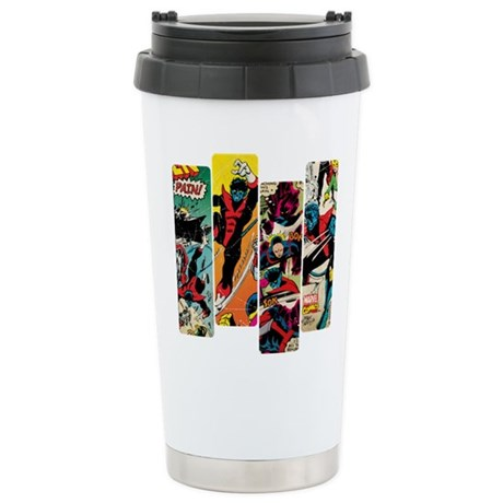 Nightcrawler Comic Pane Stainless Steel Travel Mug