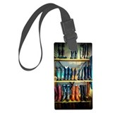 Cowgirl Luggage Tags