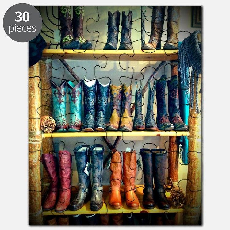 Cowboy Boots Puzzle