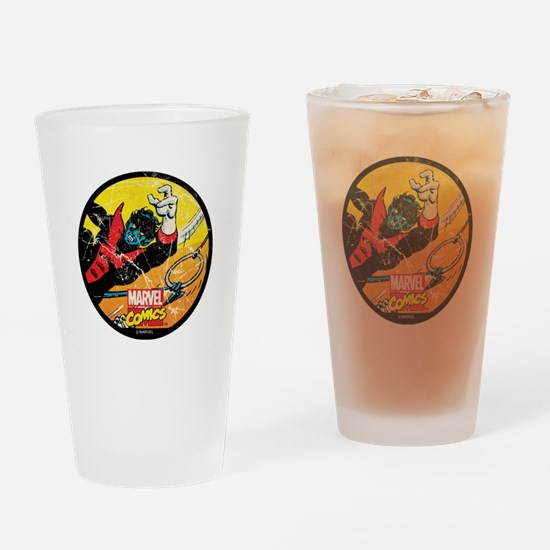 Nightcrawler Drinking Glass