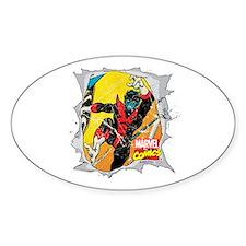 Nightcrawler X-Men Decal