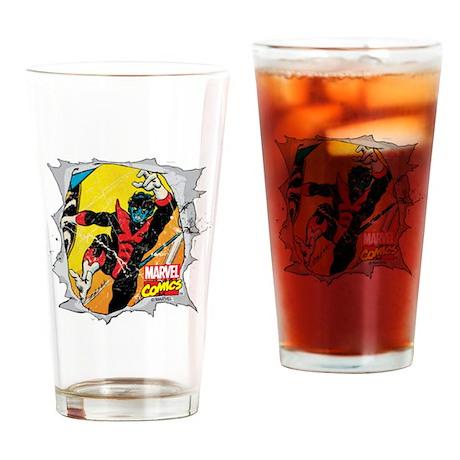 Nightcrawler X-Men Drinking Glass