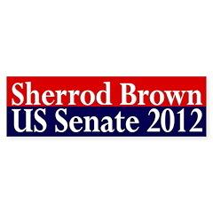 Sherrod Brown: Senate 2012 (sticker)
