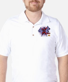Magneto X-Men Golf Shirt