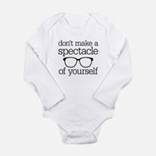 Spectacle of Yourself Long Sleeve Infant Bodysuit