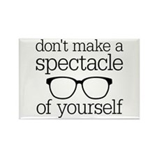 Spectacle of Yourself Rectangle Magnet (100 pack)