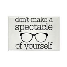 Spectacle of Yourself Rectangle Magnet
