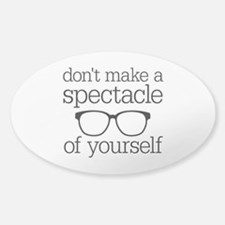 Spectacle of Yourself Decal