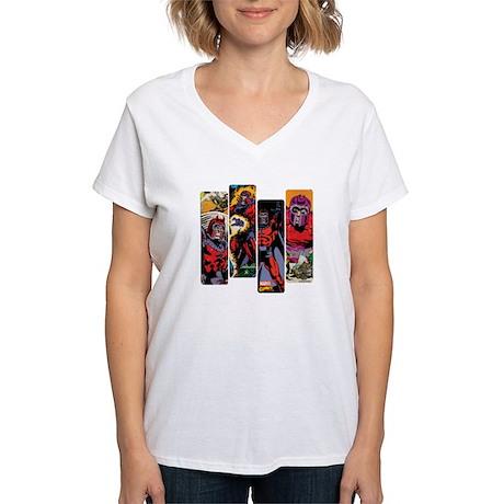 Magneto X-Men Women's V-Neck T-Shirt