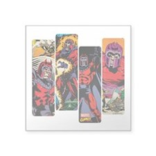 "Magneto X-Men Square Sticker 3"" x 3"""