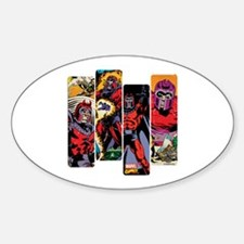 Magneto X-Men Sticker (Oval)