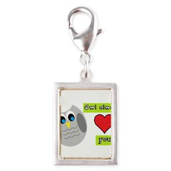 Owl always love you Charms