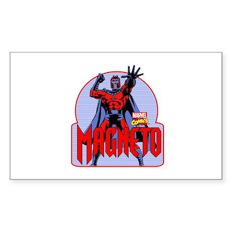 Magneto X-Men Sticker (Rectangle)