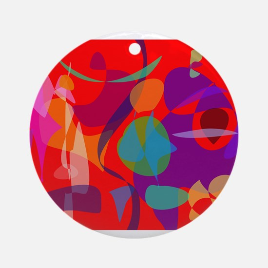 Talkative Ornament (Round)