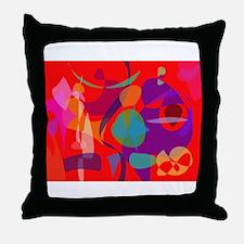 Talkative Throw Pillow