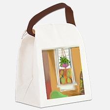 Swedish Ivy Canvas Lunch Bag