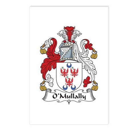 O'Mullally Postcards (Package of 8)