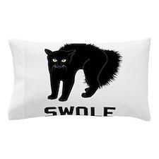 Swole Cat is Kitten Swole Pillow Case