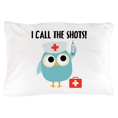 Owl Nurse Pillow Case