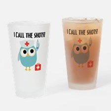 Owl Nurse Drinking Glass