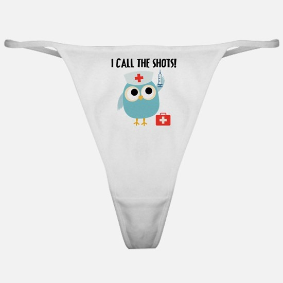 Owl Nurse Classic Thong