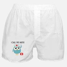 Owl Nurse Boxer Shorts