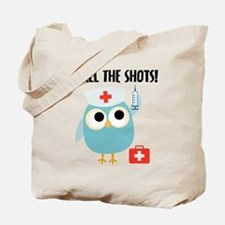 Owl Nurse Tote Bag