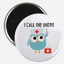 Owl Nurse Magnet