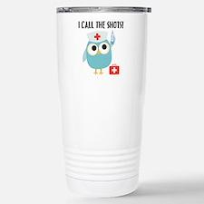 Owl Nurse Thermos Mug