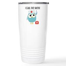 Owl Nurse Travel Coffee Mug