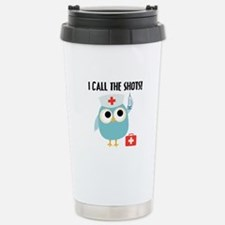 Owl Nurse Travel Mug