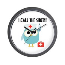 Owl Nurse Wall Clock