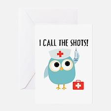Owl Nurse Greeting Card