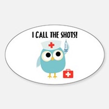 Owl Nurse Decal