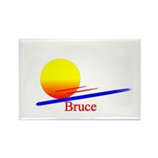 Bruce Rectangle Magnet