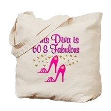 60TH DIVA Tote Bag