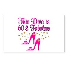 60TH DIVA Decal
