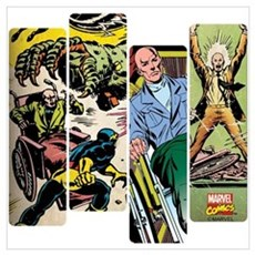 Professor X Comic Panel Wall Art Poster