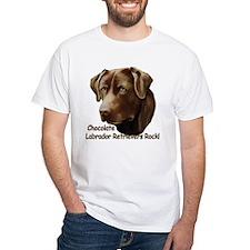 Chocolate Labs Rock Shirt